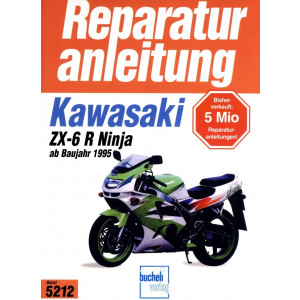 Kawasaki ZX-6 R Ninja  (1995>) - Reparaturanleitung