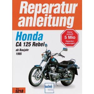Honda CA 125 Rebel (1995>) - Reparaturanleitung