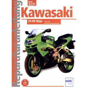 Kawasaki ZX 9-R Ninja  (1998-2003) - Reparaturanleitung