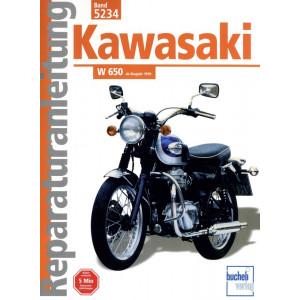 Kawasaki W 650 (1999>) - Reparaturanleitung