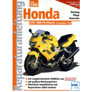 Honda VTR 1000 FireStorm SC36 (1997-2005) - Reparaturanleitung
