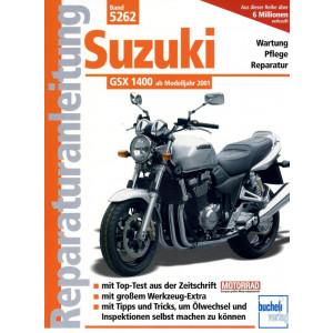 Suzuki GSX 1400 (2001-2006) - Reparaturanleitung