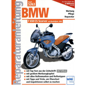 BMW F 650 CS Scarver (2002>) - Reparaturanleitung