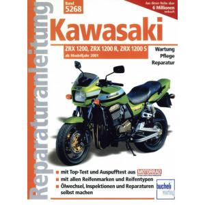 Kawasaki ZRX 1200 / 1200 R / 1200 S (2001-2007) Reparaturanleitung