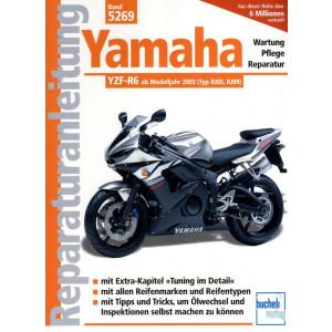 Yamaha YZF-R6 RJ05 / RJ 09 (2003-2004) - Reparaturanleitung