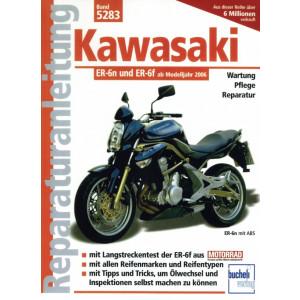 Kawasaki ER-6n / Kawasaki ER-6f (2006-2016) Reparaturanleitung
