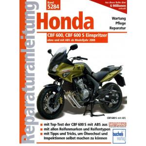 Honda CBF 600 / 600 S (2008-2013) - Reparaturanleitung
