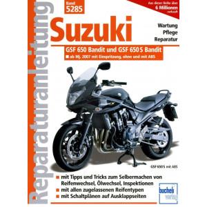 Suzuki GSF 650 / GSF 650 S Bandit (2007-2010) - Reparaturanleitung / wird nachgeliefert