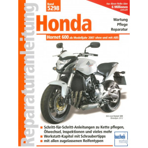 Honda Hornet 600 PC 41 (2007-2012) - Reparaturanleitung