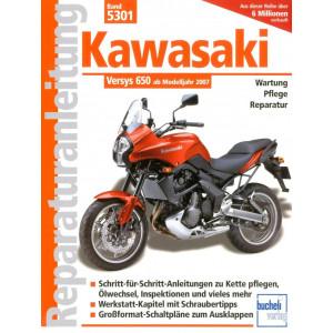 Kawasaki Versys 650 (2007>) - Reparaturanleitung