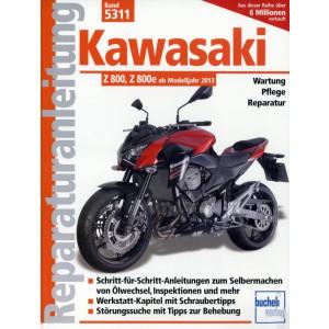 Kawasaki Z 800 / Z 800e (2013>) - Reparaturanleitung