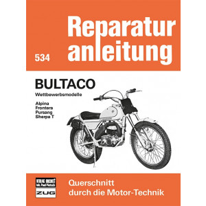 Bultaco Alpina / Frontera / Pursang / Sherpa T  - Reparaturanleitung