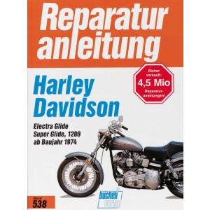 Harley Davidson Electra Glide / Super Glide 1200 (74>) - Reparaturanleitung