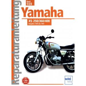 Yamaha XS 250 / 360 / 400 (75-81) - Reparaturanleitung