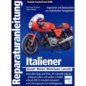 Ducati / Morini / Moto Guzzi / Laverda Reparaturanleitung Bucheli Special