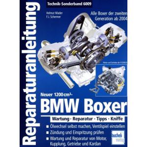 BMW R1200 / HP2 Boxer (2004-2012)  Reparaturanleitung Bucheli Special