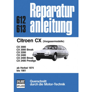 Citroen CX (74-81) - Reparaturanleitung