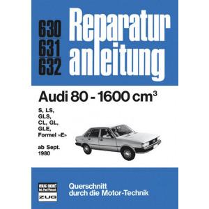 Audi 80 B2 1.6 Liter (80>) - Reparaturanleitung