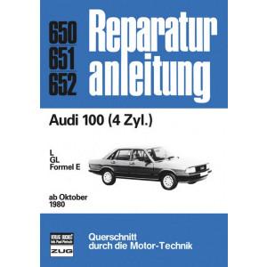 Audi 100 (80>) 4 Zylinder - Reparaturanleitung