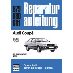 Audi Coupe B2 (80>) - Reparaturanleitung