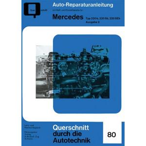 Mercedes Typ 220 b, 220 Sb, 220 SEb Band 2- Reparaturanleitung