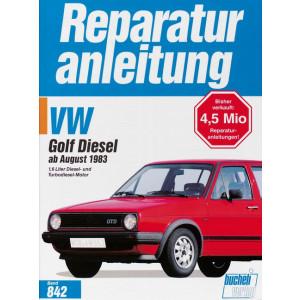 VW Golf II Diesel / Turbodiesel  (83>) - Reparaturanleitung