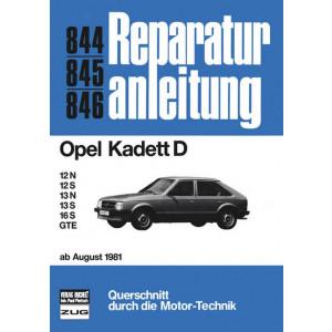 Opel Kadett D (81>) - Reparaturanleitung