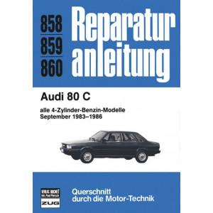 Audi 80 B2 4 Zylinder Benziner (83-86) - Reparaturanleitung