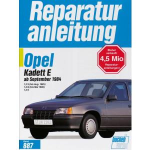 Opel Kadett E (84>) - Reparaturanleitung