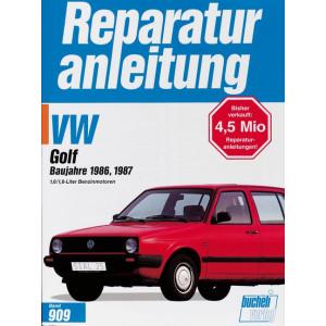 VW Golf II (86-87) 1.6 Liter / 1.8 Liter Benziner  - Reparaturanleitung
