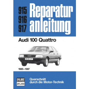 Audi 100 Quattro  (85-87) - Reparaturanleitung