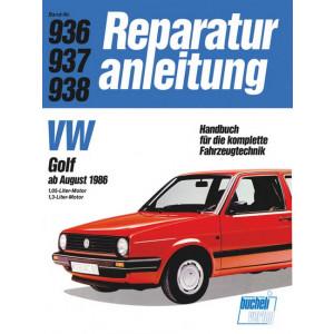 VW Golf II (86>) 1.0 Liter / 1.3 Liter- Reparaturanleitung