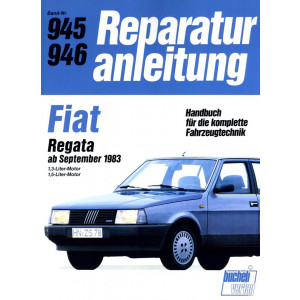 Fiat Regata 1,3 / 1,5 Liter (1983-1990) - Reparaturanleitung