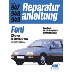 Ford Sierra V 6 (84>) 2.3 L / 2.8 L / 4x4- Reparaturanleitung
