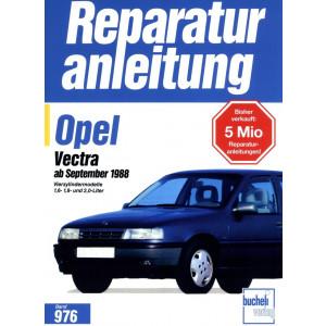 Opel Vectra A 1,6 / 1,8 / 2,0 Liter Benziner (1988-1995) - Reparaturanleitung
