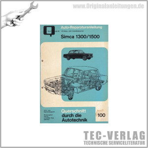 Simca 1300 / 1500 Reparaturanleitung