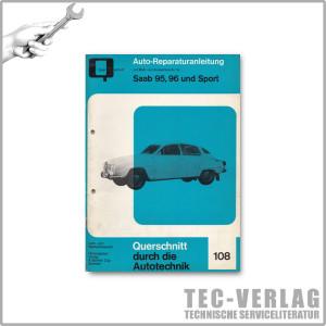 Saab 95, 96 und Sport - Reparaturanleitung
