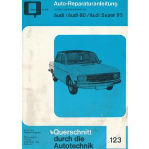 Audi 80 / Super 80 (65-72) - Reparaturanleitung