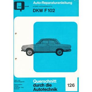 DKW F 102 Reparaturanleitung