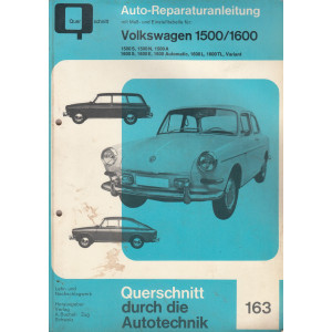 Volkswagen 1500 / 1600 (61-69)  - Reparaturanleitung