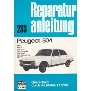 Peugeot 504 - Reparaturanleitung