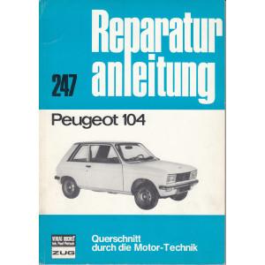 Peugeot 104 (72-88) - Reparaturanleitung