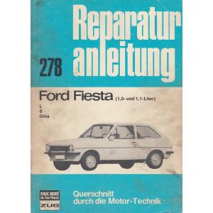 Ford Fiesta (1,0 und 1,1L) L / S / Ghia - Reparaturanleitung