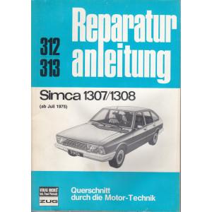 Simca 1307/1308 (ab 75) - Reparaturanleitung
