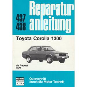 Toyota Corolla 1300 (ab 8.1979) - Reparaturanleitung