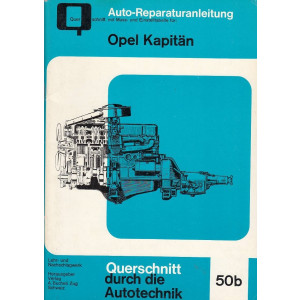 Opel Kapitän / P / PL (55-59) - Reparaturanleitung Ausgabe B
