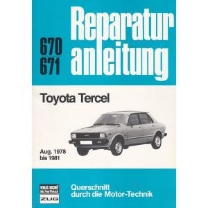 Toyota Tercel (1978 - 1981) - Reparaturanleitung
