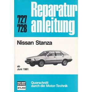 Nissan Stanza (ab 1981) - Reparaturanleitung