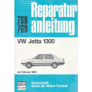 VW Jetta 1300 (ab 1984) - Reparaturanleitung