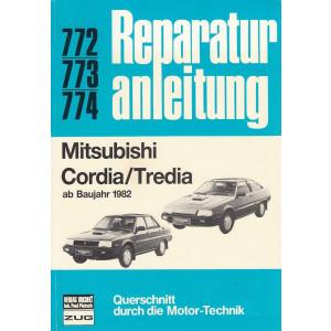 Mitsubishi Cordia / Tredia (ab 1982) - Reparaturanleitung